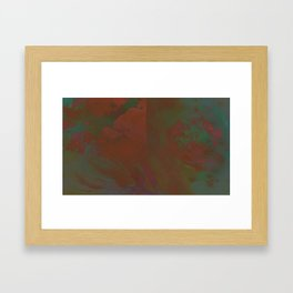 Grayed Framed Art Print