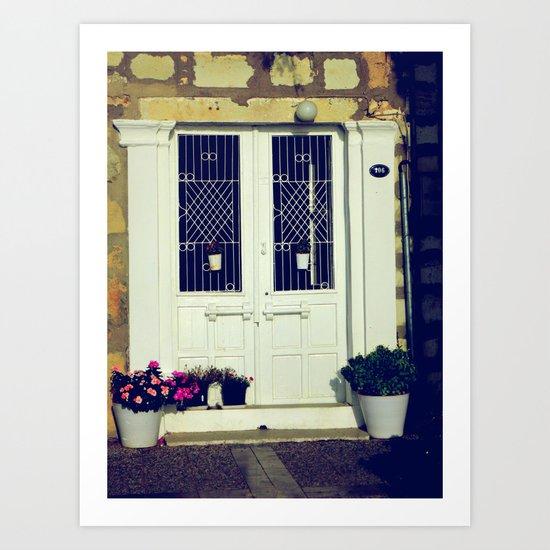 pretty door Art Print