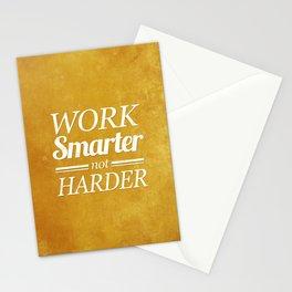 Work Smarter Stationery Cards