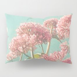 Pink Milkweed Pillow Sham