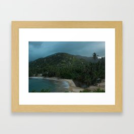 TAYRONA Framed Art Print