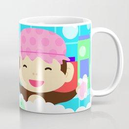 Monkey in a bath Coffee Mug