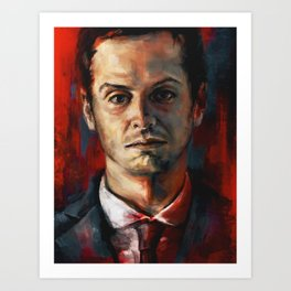 James Moriarty Art Print