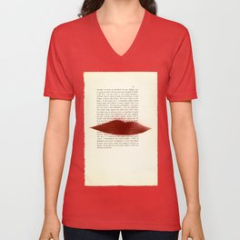 UE1302 (Man Ray Deluxe) - Drawing #9 Unisex V-Neck