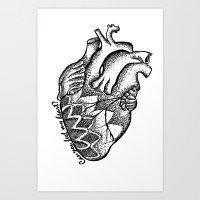 Can you feel my heart? Art Print
