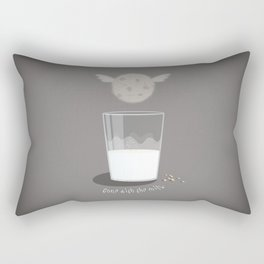 Gone with the milk Rectangular Pillow