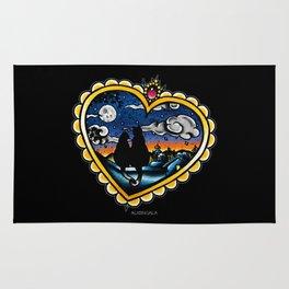 Kitties Valentine's Rug
