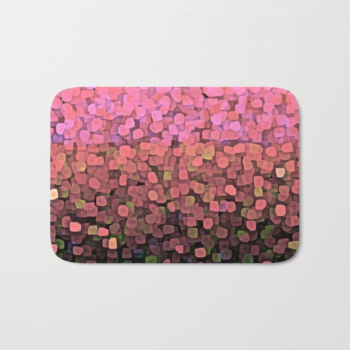 Sparkles and Glitter Pink Bath Mat