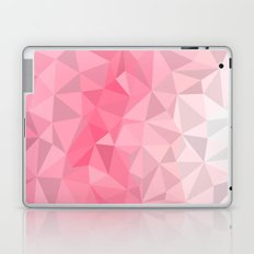 Pink Polygon Laptop & iPad Skin