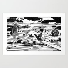 asc 599 - L'événement (The long journey home) Art Print