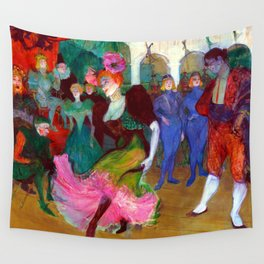 Toulouse Lautrec Marcelle Lender Dancing the Bolero Wall Tapestry