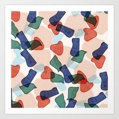 Sofia pattern Art Print