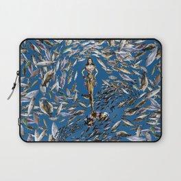 Mermaid in Monaco Laptop Sleeve