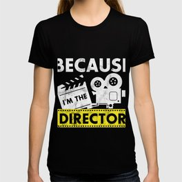 Director T Shirt Movie Themed Gift T-shirt