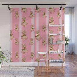 Parasol Pink Vintage Wall Mural