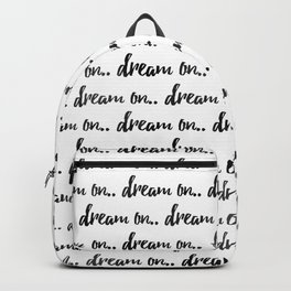 Dream On Backpack