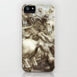Freize by Leonardo Da Vinci iPhone Case
