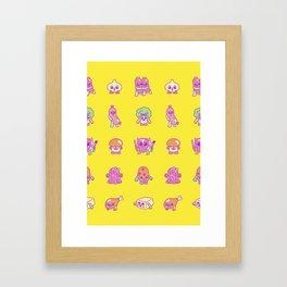 Hearty For You Framed Art Print