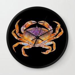Dungeness crab Wall Clock