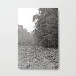 -CREEKBED- Metal Print