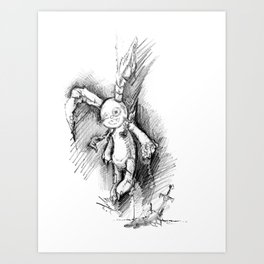 Lost and Never Found Art Print