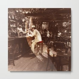 In Through the Out Door Led (Remastered) by Zeppelin Metal Print