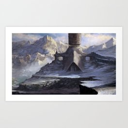 """Mountain Temple - #1"" Art Print"