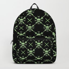 Skull Pattern | Bones Heavy Metal Cemetery Backpack