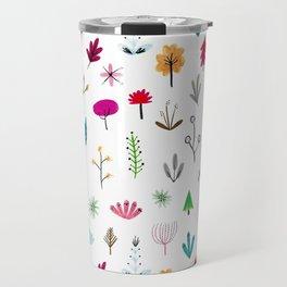 Plants & Flowers Travel Mug