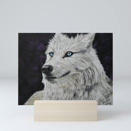 Smiling Wolf Mini Art Print