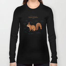 Anatomy of a Squirrel Langarmshirt