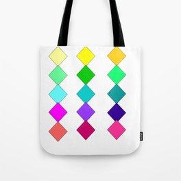 diamonds of color Tote Bag