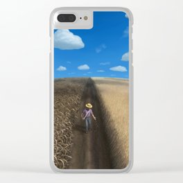 Sow and Reap Clear iPhone Case