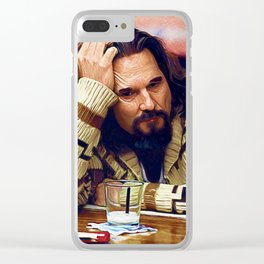 White Russian Clear iPhone Case