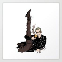Leggy Spike Art Print