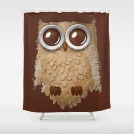 Owlmond 2 Shower Curtain