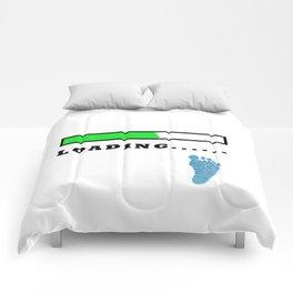 Baby Loading Boy Comforters
