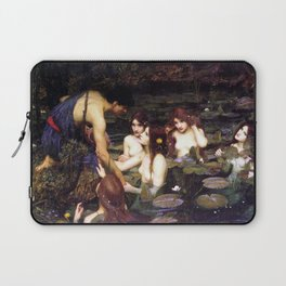 Hylas and the Nymphs,  John William Waterhouse Laptop Sleeve