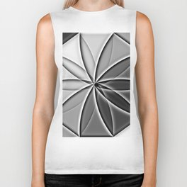 artistic kaleidoscope background Biker Tank