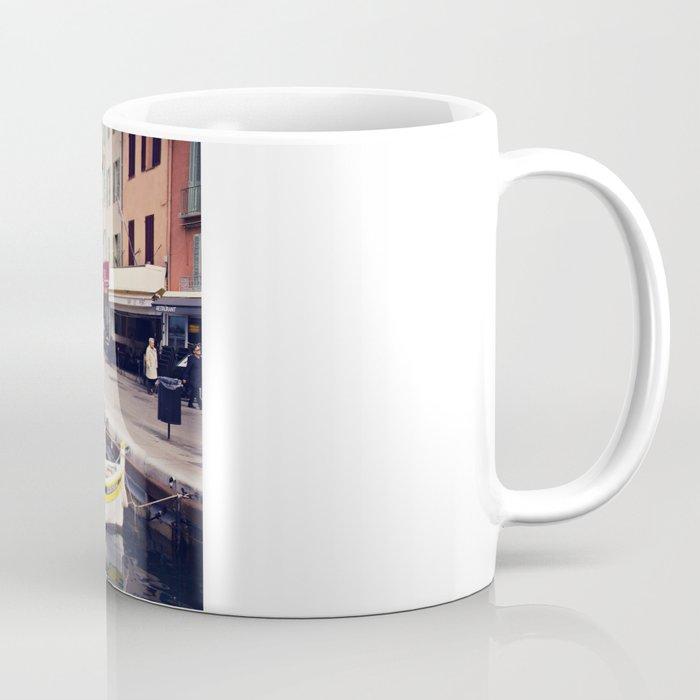 Boats in Cassis Harbor Coffee Mug