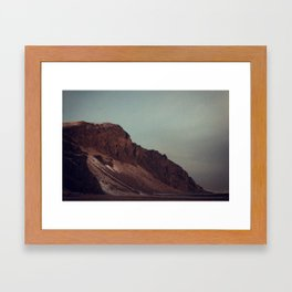 Naked Cliff Framed Art Print