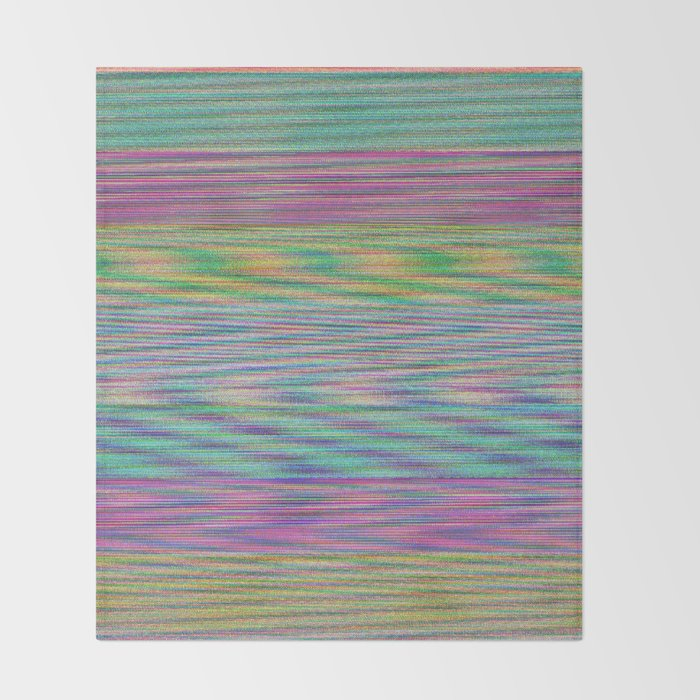 Anguilla Bicolor Throw Blanket
