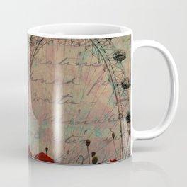 Poppies and Pink Skies Coffee Mug