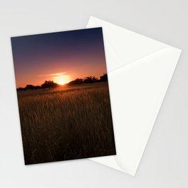 African Kalahari Sunset - Landscape Photography #Society6 Stationery Cards