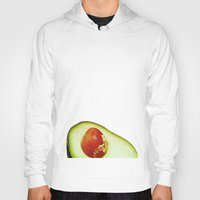 avocado Hoodies featuring Avocado by Olivier P.