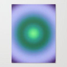Ripple IV Pixelated Canvas Print