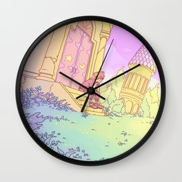 The Mysterious Tower Wall Clock