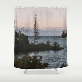 The View From Copper Harbor Shower Curtain