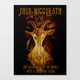Niggurath Canvas Print
