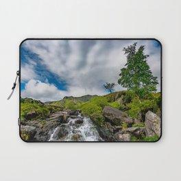 Cwm Idwal Rapids Snowdonia Laptop Sleeve
